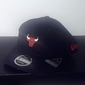 Chicago Bulls New Era Pin Collection 9FIFTY Adjust